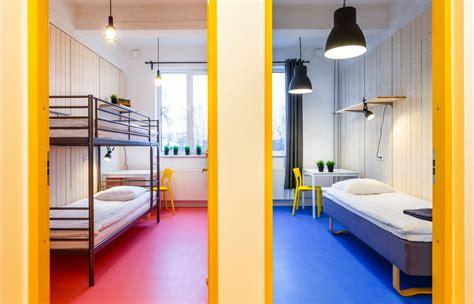 rooms  bunk beds   shared bathroom hektor