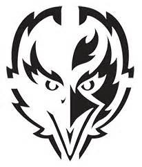 Wwe Logo Pumpkin Carving Patterns by Baltimore Ravens Ravenstown Ravenspumpkin Contest