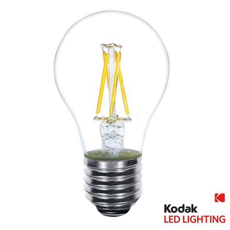 kodak 40w equivalent warm white a19 clear filament