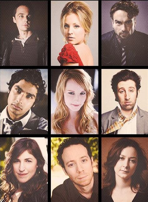 the big bang theory cast read listen watch pinterest