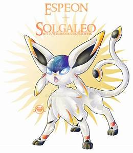 Solgaleo + Espeon by Seoxys6 on DeviantArt