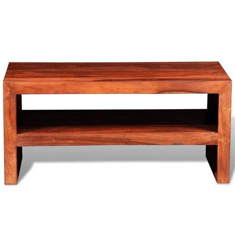 Vidaxl Co Uk Sheesham Solid Wood Tv Stand Side Table