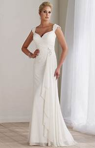 destinations by mon cheri long lace casual wedding dress With casual long wedding dresses