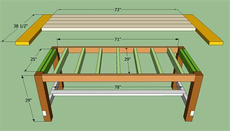 dining table construction plans farmhouse table plans to build how to build a farmhouse