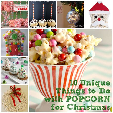special things to do at christmas for work 10 unique things to do with popcorn for surf and