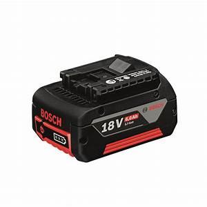 Bosch Pro 18v : bosch professional 18v 6 0ah lithium ion battery ~ Carolinahurricanesstore.com Idées de Décoration