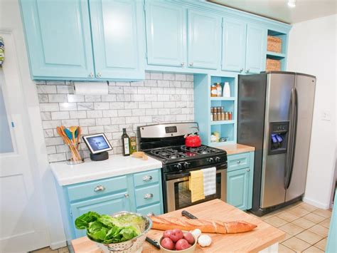 blue kitchen storage kitchen cabinet paint pictures ideas tips from hgtv hgtv 1740