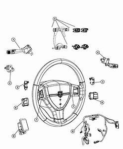 2010 Dodge Ram 3500 Wiring  Steering Wheel  Trim   All