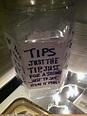 Just the tip ;) | Funny tip jars, Tip jars, Wedding crashers
