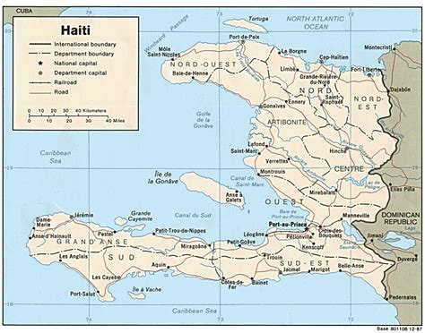 haiti maps perry castaneda map collection ut library