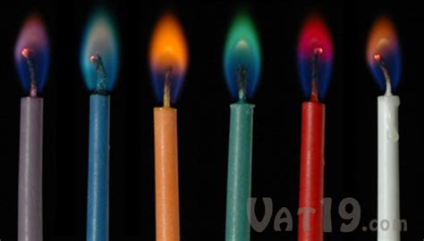 Candele Color by Color Candles Twelve Birthday Candles With