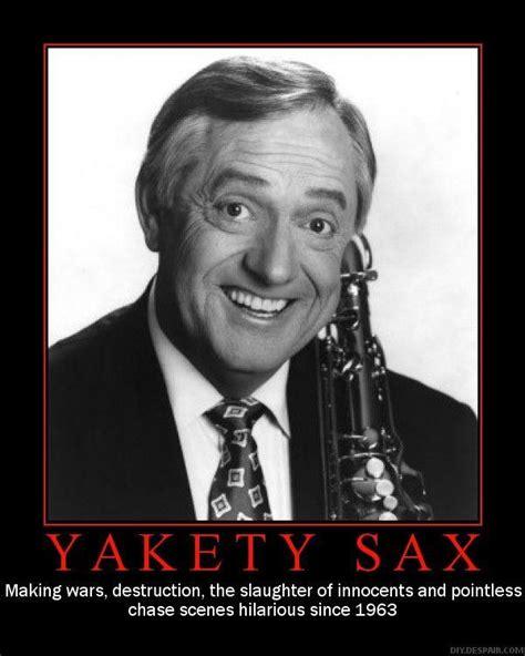 Saxophone Meme - image 15079 yakety sax the benny hill theme know your meme