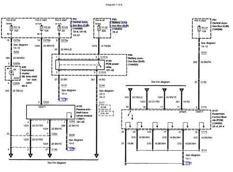 2002 F150 Dash Wiring Schematic by Pats Wiring Schematics Powerstrokenation Ford