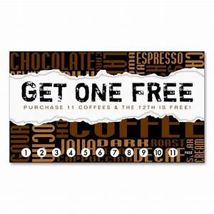 29 best images about coffee shop loyalty card templates on With frequent diner card template