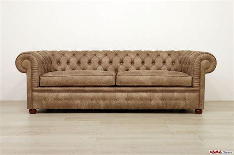 posti in divano chesterfield 3 posti vama divani