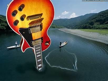 Gibson Guitar Paul Electric Studio Fireburst Desktop