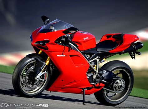 Ducati Superbike Red Front View Wallpaper Hd