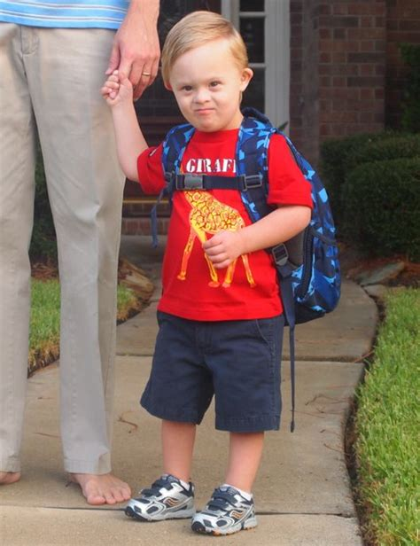 boy preschool funhouseblog 100 | preschool boy down syndrome
