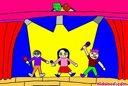 Clipart Acting Play Theater Clip Drama Theatre