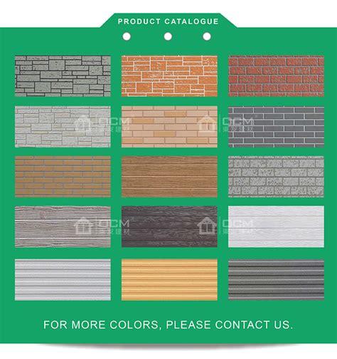 Non Asbestos 4x8 Wood Pattern Fibre Cement Exterior Siding