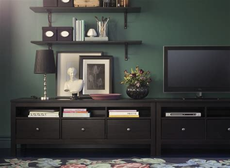 hemnes tv benches put side  side create lots