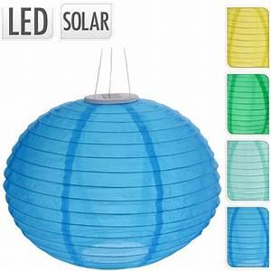 Lampions Mit Led : solar lampion oval led gartenbeleuchtung mit akku ~ Watch28wear.com Haus und Dekorationen