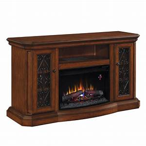 Shop allen + roth 60-in W 4,600-BTU Sable Wood and Metal