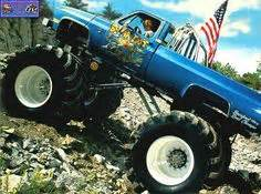 1000+ images about Old Monster Trucks on Pinterest ...