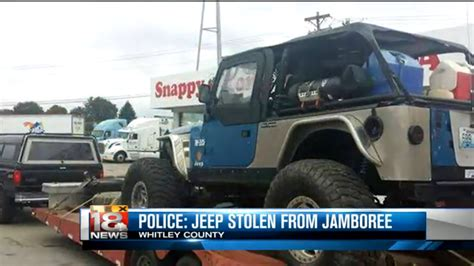 police jeep instructions police looking for jeep stolen from jeep jamboree quadratec