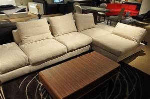 Down feather sectional sofa new down feather sectional for Sectional sofa 70