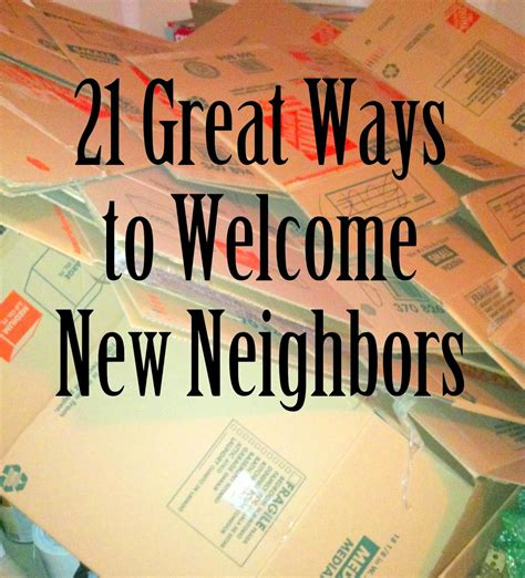 Mom Explores Michigan Moving Week 21 Great Ways To Welcome New Neighbors  Welcome Pinterest