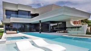 maison design avec piscine a debordement With mobilier de piscine design 14 maison traditionnelle grecque
