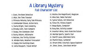 Fairy Tale Characters List