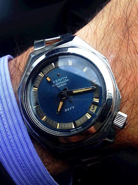 zenith defy miura bracelet brilliant circa 1970s watches case ladder affordable luxury