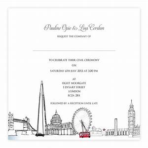 London wedding invitations by goldfinch design www for Wedding invitations designer london