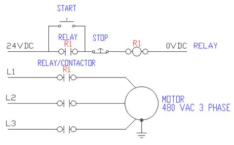 Control Wiring Wire Start Stop Circuit