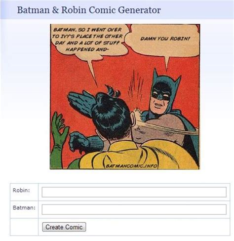 Batman And Robin Meme Creator - image 471446 my parents are dead batman slapping robin know your meme