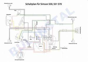 Simson Sr50 Zundschloss Schaltplan