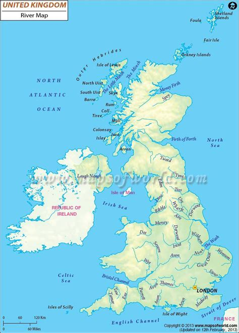 united kingdom river map maps map map  britain