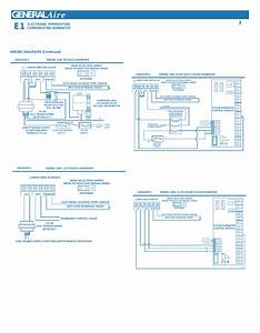 Generalaire E1  Wiring Diagrams  Continued   Electronic Temperature Compensating Humidistat