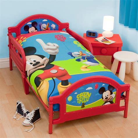 Mickey Mouse Bed by Character Generic Junior Toddler Beds With Or Without