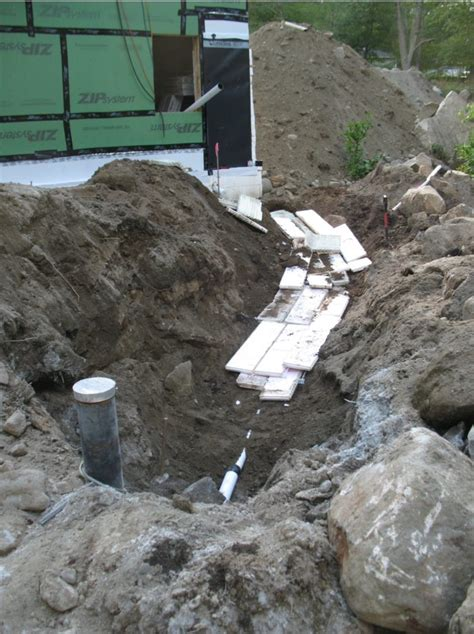 water line insulation well water line homebuilding 3359