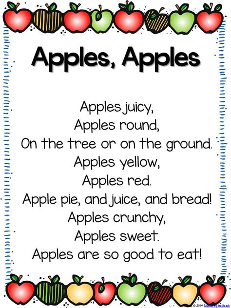 151 best images about class songs chants amp cheers on 893 | f1fcafdfb631f8e2b8d2c27f334ecf89 kindergarten apples preschool apples
