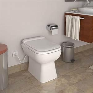 Wc a poser avec broyeur integre turbo design leroy merlin for Salle de bain design avec décoration de noel professionnel