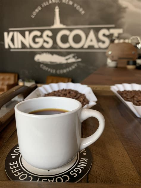 Not for hanging out in too long. Kings Coast Coffee Company, roasted on Long Island for Islanders : LongIslandEats