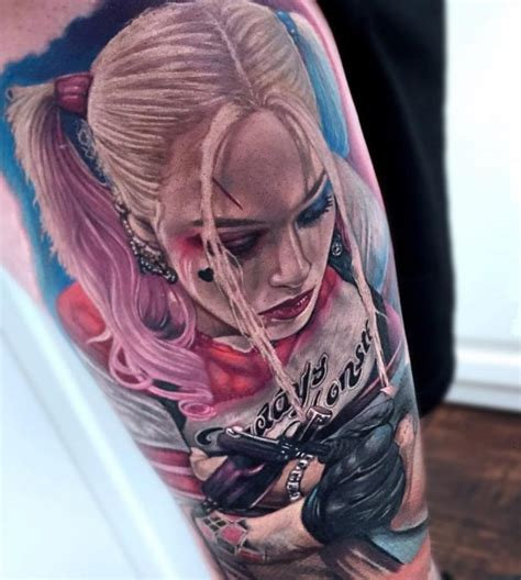 60+ Quirky Harley Quinn Tattoo Ideas  Bring Out Your