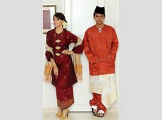 Malaysia clipart traditional dress Pencil and in color
