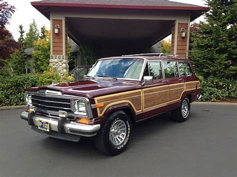 1991 jeep wagoneer interior purchase used 1991 jeep grand wagoneer final edition 4x4