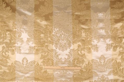 Beacon Hill Stripe Damask Italian Made Cotton & Silk