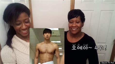 미국인 엄마가 한국 남자 연예인 순위를 매겼다동영상